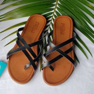 Women's Mad Love Multi Strap Thong Sandals